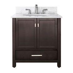 ceramic top 36 inch single sink bathroom vanity with mirror and rh pinterest co uk
