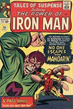 Tales of Suspense featuring Iron Man #55