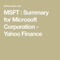 Msft Stock Quote Amzn  Summary For Amazon Inc Yahoo Finance  Finanza