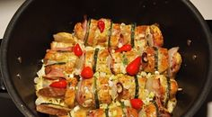 Skewers in Remoska Cooking Equipment, Skewers, Ratatouille, Sushi, Slow Cooker, Oven, Cooking Recipes, Dishes, Baking