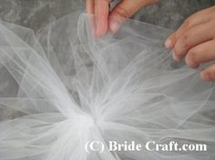 Step-by-step instrustions for creating a tulle pew bow for your wedding ceremony. Tulle Pew Bows, Tulle Pompoms, Tulle Wreath, Wedding Pew Decorations, Church Decorations, Wedding Bows, Wedding Ideas, Wedding Bouquets, Wedding Stuff