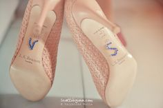 www.scattidigioia.com When the bride's shoes are very, very special...