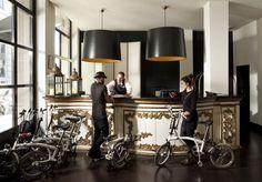 Bicicletas Brompton Hotel Pulitzer Barcelona