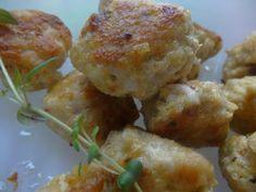 Czary w kuchni- prosto, smacznie, spektakularnie.: Pulpeciki light z kurczaka z dodatkiem świeżego ty... Baked Potato, Potatoes, Baking, Ethnic Recipes, Food, Bread Making, Meal, Patisserie, Potato