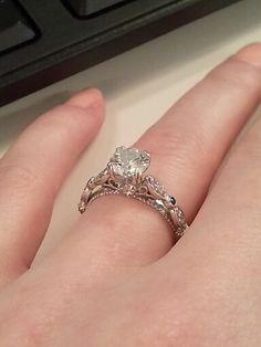 Veraggio (Parisian)  engagement ring