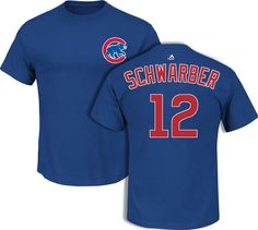 Paul: size XL. He's not so much a Cubs fan as a Schwarber fan (IU!), but he'd love this