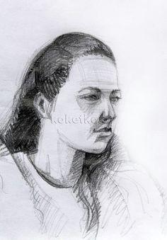 Как нарисовать портрет карандашом поэтапно. Мастер класс
