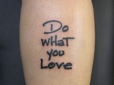 Just Do What You Love