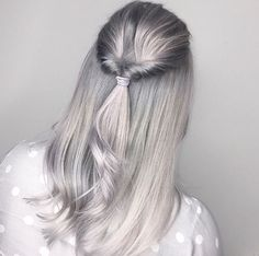 Silver Clouds @megryanhair