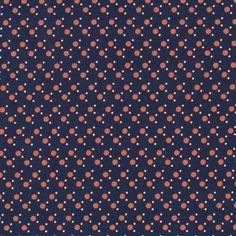 Stella Dots in Navy & Orange in Anchors Away by Dear Stella