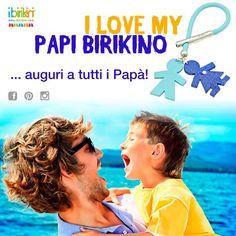 Auguri a tutti i papà per domani 19 Marzo!! <3 by www.ibirikini.com  #festadelpapà #19marzo #auguripapà