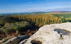 Blackingstone Rock This rocky outcrop in Dartmoor is said to be where Arthur came face to face with the devil. It offers panoramic views of the region and is close to the attractive market town of Moretonhampstead.