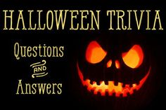 Fun facts about Halloween: trivia questions about the spookiest holiday of the year Haloween Games, Halloween Party Games, Halloween Birthday, Happy Halloween, Halloween Decorations, Halloween Games For Adults, Halloween Activities, Holiday Activities, Halloween Trivia Questions