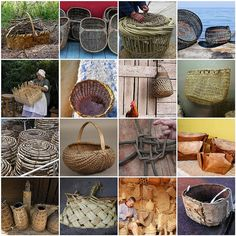 1. Chestnut basket waiting to be hauled home, 2. cancale 28122007-36, 3. Lobster Pot, St Ives, Cornwall, 4. Recycled paper basket, 5. Women Making A Basket, 6. Salinas..., 7. Cock at home, 8. Clam Basket, 9. Crab Pots, 10. NCbasket, 11. Kudzu basketry with Regina Hines , 12. 03-Four baskets, 13. Outside a Door., 14. BUSLONG MALIIT, 15. Artesano, 16. birch bark container