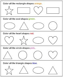 shapes worksheets for kindergarten Preschool Assessment, Preschool Learning, Kindergarten Worksheets, In Kindergarten, Preschool Activities, 3 Year Old Preschool, Preschool Cutting Practice, Shape Worksheets For Preschool, Preschool Shapes