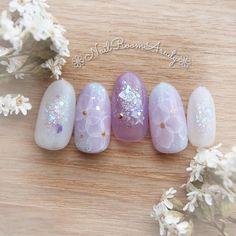 KiyokoKonoさんはInstagramを利用しています:「・❁紫陽花の水彩ネイル❁・ ❁ ・ ❊・ ❁ ・ ❊ ・ ❁ ・ ❊・ ❁ ・ ❊ ・ ❁ ・ ❊ ・ ❁ NailRoomArudyネイルルームアルディ 初回他店ハンドソフトジェルオフ無料、 通常メニュー10%引き…」