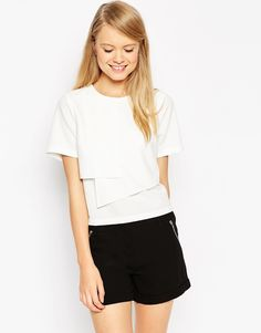 Image 1 of ASOS Clean Origami T-Shirt