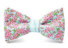 Купить галстук-бабочку - бабочка бирюзового цвета