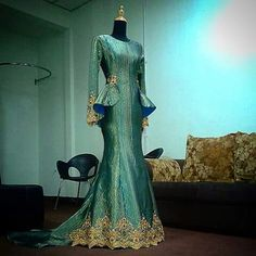 "Wedding dress songket ""lily moo"""