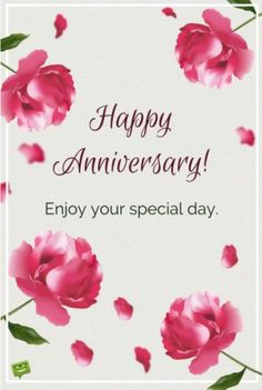 Milestone Marriage Anniversary Wishes for a Special Couple Happy Anniversary! Enjoy your special day Anniversary Cards For Couple, Wedding Anniversary Message, Wedding Anniversary Greetings, Happy Wedding Anniversary Wishes, Happy Anniversary Cakes, Wedding Congratulations Card, Happy Wedding Day, Anniversary Funny, 2 Month Anniversary