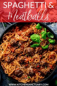 Spaghetti and Meatballs  Pasta….healthier and some? My delicious Spaghetti and...  ITALIAN MEATBALL SUBS Spaghetti and Meatballs  Pasta….healthier and some? My delicious Spaghetti and Meatballs are a family favourite. This easy Italian dinner is comfort food at its best. #spaghettiandmeatballs #meatballs #familydinner Easy Pasta Recipes, Easy Dinner Recipes, Beef Recipes, Italian Recipes, Great Recipes, Cooking Recipes, Healthy Recipes, Dinner Ideas, Healthy Food