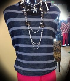 Solids & Stripes, what an amazing pair! Happy Luxe!