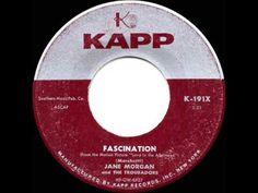 1957 HITS ARCHIVE: *Fascination* - Jane Morgan (her original hit single version) - YouTube