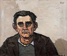 Hugh Rowlands  by Kyffin Williams
