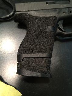 Stippled Glock 42 Find our speedloader now!  http://www.amazon.com/shops/raeind