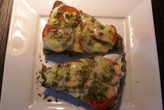 Broodje gesmolten kaas uit de Airfryer