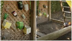 sandbox ideas - happy hooligans - creating a natural play space Kids Play Spaces, Outdoor Play Spaces, Kids Outdoor Play, Backyard Play, Kids Play Area, Outdoor Learning, Outdoor Fun, Backyard Landscaping, Kids Fun