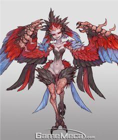 아이템베이 상세 Fantasy Monster, Monster Art, Anime Fantasy, Fantasy Art, Fantasy Character Design, Character Design Inspiration, Character Concept, Character Art, Creature Concept Art