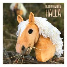 """Sanne-Maija Morelius on Instagram: """"And the newest member! She is Helmi's foal HALLA. She lives in a @kisatalli_hulmurinne farm. . Ja tässä on Helmin tammavarsa HALLA. Hän on…"""" Hobby Horse, Halle, Horses, Squad, Instagram, Animals, Animales, Animaux, Hall"""