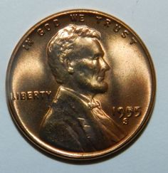 1955 S DOUBLE DIE LINCOLN WHEAT CENT Been Sitting in Safe Forever! 55 DDO (UNC) $499.00