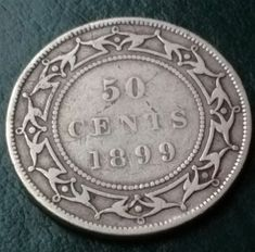 Canadian Coins, Old Coins, Newfoundland, Mint, Collections, Personalized Items, Coins, Newfoundland Dogs, Peppermint