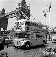 British Transport - Buses - London - 1976