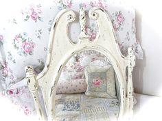 Hey, I found this really awesome Etsy listing at https://www.etsy.com/listing/455488500/shabby-off-white-cream-long-oval-face