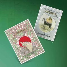 Vintage Japanese Silk Trade Labels: Includes CD-ROM