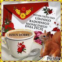 dzien dobry - PicMix Tea Cups, Tableware, Humor, Coffee, Good Night, Kaffee, Dinnerware, Tablewares, Humour