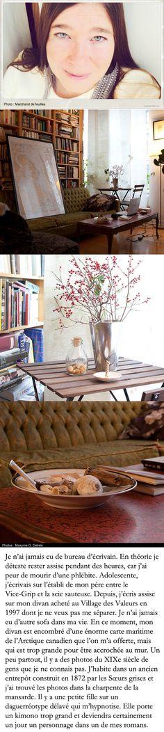 Tableau assis sur le divan de Mélanie Vincellette qui est tout, sauf une diva