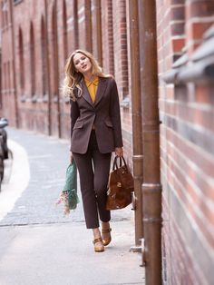 Love these two Burdastyle patterns Ankle Trousers 11/2012 & Tailored Blazer 11/2012