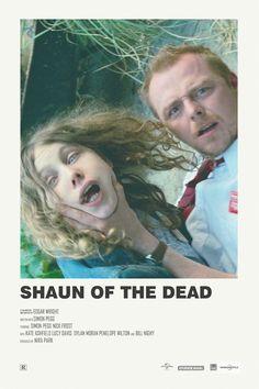 Andrew Sebastian Kwan - Shaun of the Dead alternative movie poster Visit my Store - Iconic Movie Posters, Minimal Movie Posters, Minimal Poster, Cinema Posters, Movie Poster Art, Iconic Movies, Poster Series, Dylan Moran, Movie Prints