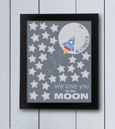 Hey, I found this really awesome Etsy listing at https://www.etsy.com/listing/254339429/love-you-to-the-moon-baby-shower