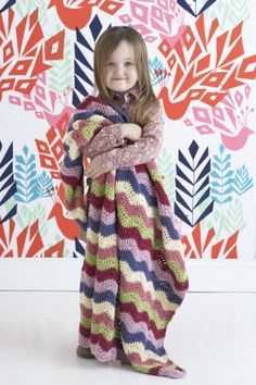 Child's Chevron Throw- Love this pattern! I'm almost done with mine :)