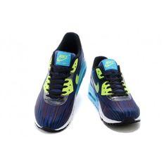 new style 76d1e 5133c  60.97 nike lunar air max 90,Nike Air Max Lunar 90 Men Navy blue wine