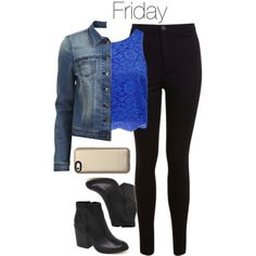 """""""Caroline Forbes inspired Week of School Outfits"""" by staystronng on Polyvore"""