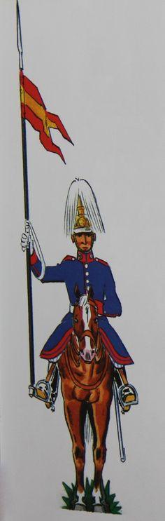 Lanceros del Rey 1902-31 gala