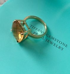 Authentic Tiffany & Co 18k Yellow Gold Sparklers 8.50ct Citrine Ring. Get the lowest price on Authentic Tiffany & Co 18k Yellow Gold Sparklers 8.50ct Citrine Ring and other fabulous designer clothing and accessories! Shop Tradesy now