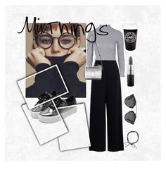 """""""Mixing texture/color/style"""" by paulina-plotczyk on Polyvore featuring Topshop, Zimmermann, WithChic, 3.1 Phillip Lim, MAC Cosmetics and Christian Dior"""