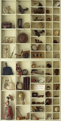 ~I want to do this in my house with all the cool things I find at estate sales!